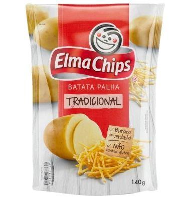 Batata Palha Elma Chips - 140 g - Cód. 10837