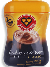 Cappuccino Classic 03 Corações - 200 g- Cód. 10858