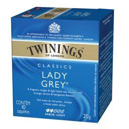 Cha Twinings Clas. Lady Grey - 20G- Cód. 10880