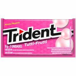 Chiclete Trident Tutti-Frutti- Cód. 10884