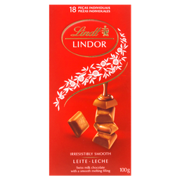 Choc.Leite Lindor Lindt - 100 g- Cód. 10885