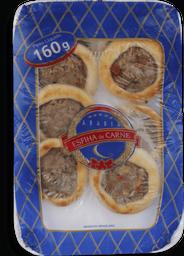 Esfiha Aberta Carne Arabia - 160 g- Cód. 10926