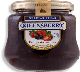 Geléia Queensberry Classic Frutas Vermelhas - 320 g- Cód. 10934
