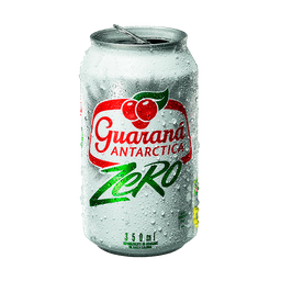 Guaraná Antarctica Zero - 350  mL- Cód. 11143