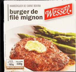 Hambúrguer De File Mignon Wessel - 330 g- Cód. 10941
