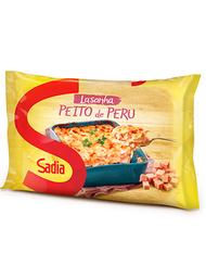 Lasanha Peito De Peru Sadia - 600 g- Cód. 10949