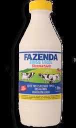 Leite Da Fazenda - Tipo A - Desnatado - 1 L- Cód. 10954