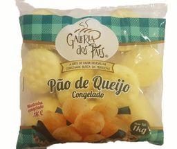Pao De Queijo Galeria Dos Pães - Congelado - 1 Kg- Cód. 10992