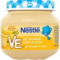 Papinha Nestle De Banana Com Aveia - 120 g- Cód. 10998