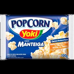 Pipoca Yoki Com Manteiga - 100g- Cód. 11003