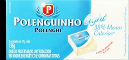 Queijo Polenghinho Light - 08 Unidades - 136 G- Cód. 11024