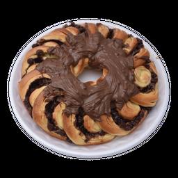 Rosca De De Chocolate - Unidade 450 g (Peso Minimo)- Cód. 11346