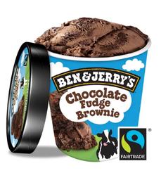 BEN JERRYS CHOCOLATE FUDGE BROWNIE 458ML