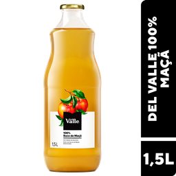Suco Del Valle 100%- Maça - 1,5L- Cód. 11047