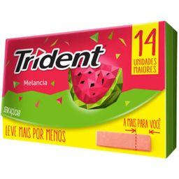 Trident Melancia  - 25,2G- Cód. 11061