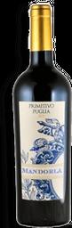 Vinho Mandorla Primitivo Puglia 750 mL - Italiano- Cód. 11116
