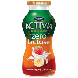 Leite Fermentado Líquido Zero Lactose - Morango e Banana 170g