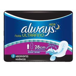 Absorvente Always Active Proteção Ultrafino Total Not. c/Abas 8U