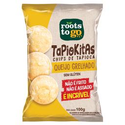 Salgadinho Chips de Tapioca Sab. Queijo Grelhado Tapiokitas 100g