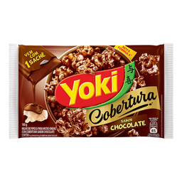 Milho de Micro-Ondas c/ Cobertura de Chocolate Popcorn Yoki 160g