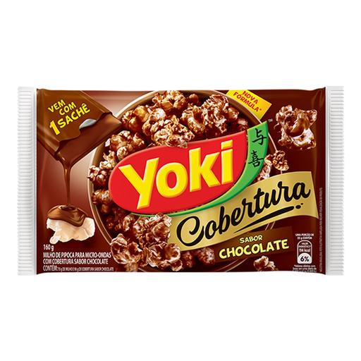 Yoki Pipoca Para Micro Com Cobertura Chocolate