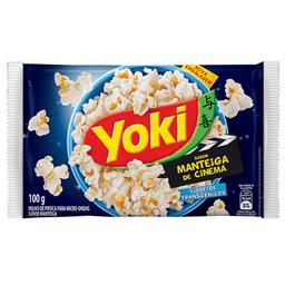 Milho de Pipoca Para Microondas Manteiga de Cinema Pop Corn 100g