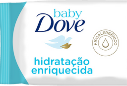 Lenço Umedecido Hidratação Enriquecida Baby Dove com 50 unidades