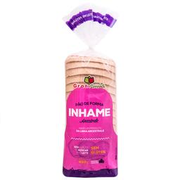 Pão de Forma sem Açúcar e sem Glúten com Inhame Grani Amici 450g