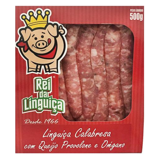 Rei Da Linguiça Linguiça Calabresa Com Provolone