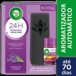 Purificador de Ar Lavanda Bom Ar Air Wick Aparelho + Refil 175g
