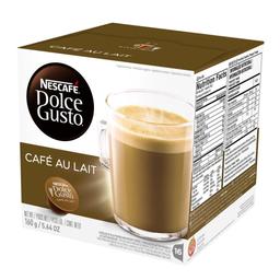 Nescafé Dolce Gusto Cappucino Café Au Lait 160g com 16 Cápsulas