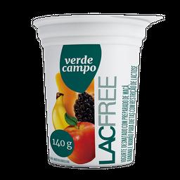 Iogurte sem Lactose Sabor Banana, Maça e Mamão Verde Campo 140g