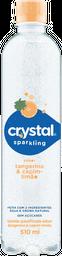 Água Saborizada Tangerina e Capim Limão Crystal Sparkling 510ml