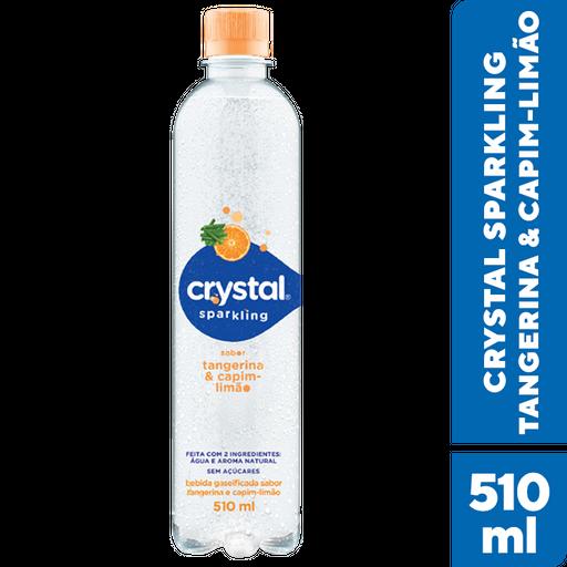 Crystal Água Mineral Tangerina E Capim-limao
