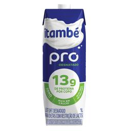 Leite Longa Vida Desnatado sem Lactose Pro com tampa - 1 Litro