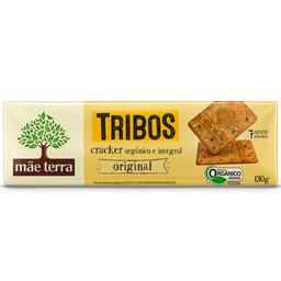 Biscoito Orgânico Integral Orig. Cracker Tribos Mãe Terra 130g