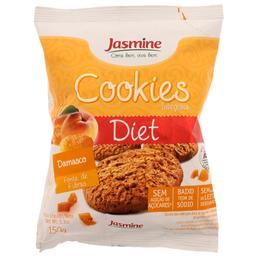 Cookies Integral Diet Sabor Damasco com Chocolate Jasmine 150g