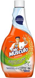Desengordurante Mr Músculo Limão Cozinha Total Refil 500 mL