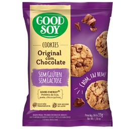 Cookie Integral sem Glúten com Gotas de Chocolate Good Soy 33g