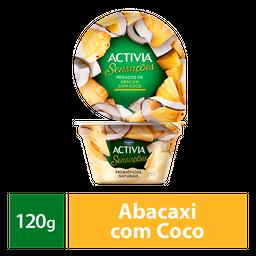 Iogurte Probióticos Activia Sensações Abacaxi Coco 120g
