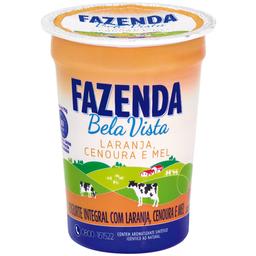 Iogurte Natural Sabor Laranja, Cenoura e  Mel Bela Vista 170g