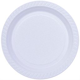 Prato Raso Descartável Branco Copobrás 17,5cm com 10 unidades
