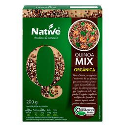Mix de Quinoa em Grãos Branca e Vermelha Orgânica Native 200g