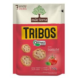 Biscoito Orgânico de Tomate e Manjericão Tribos Mãe Terra 50g