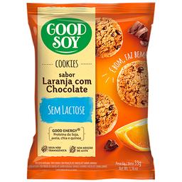 Cookie Integral sem Glúten Chocolate com Laranja Good Soy 33g