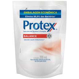 Sabonete Líquido Antibacteriano Balance Saudável Protex 200ml