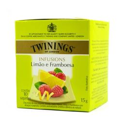 Chá Misto de Limão com Framboesa Twinings 15g com 10 unidades
