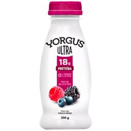 Iogurte sem Lactose Sabor Frutas Silvestres Ultra Yorgus 300g