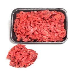Tiras de Corte Beef Bovino Resfriado para Strogonoff Bandeja