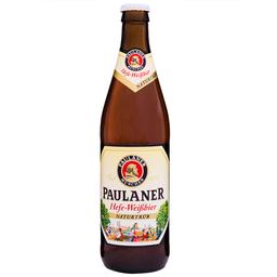 Cerveja Alemã Paulaner Hefeweissbier Naturtrüb Garrafa 500ml
